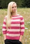 Seamless Boatneck Sweater Pattern
