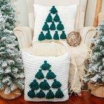 Tassel Tree Crochet & Knit Pillow Cover