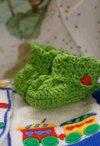 Crochet Baby Bootie Trio Pattern