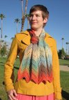 Desert Waves Scarf Pattern