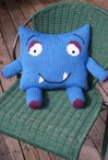 Happy Monster Pillow Buddy Pattern