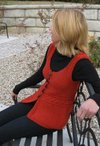 Cabled Embrace Vest Pattern