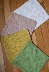 #1 Really Reversible Dishcloths Set of 4 Patterns