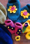 The Knitter's Crocheted Slippers