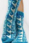Hawaiian Tattoo Socks Pattern