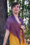 Blackberry Mist Shawl Pattern