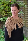 Under the Willow Tree Crochet Lacy Wrap Pattern