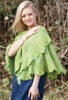 Gingko Biloba Shawl in 3 sizes