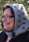 Flowering Vine Hood (Adult Size) Pattern