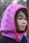 Flowering Vine Hood (Child Size) Pattern