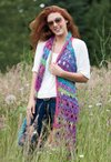 Amelia Broomstick Lace Long Vest Crochet Pattern