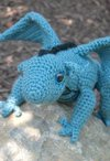 Fairy Tale Dragon Crochet Toy Pattern