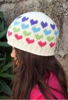 All Ages Hearts Abound Crochet Beanie