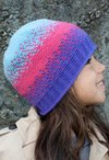 All Ages Pixelated Crochet Beanie Pattern