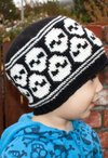 All Ages Super Skull Beanie Pattern