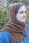 Blustery Day Hooded Scarf