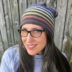 Very Versatile Striped Crochet Beanie