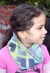 Forever Hearts Reversible Crochet Cowl Pattern