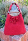 Red Rose Tote Pattern