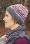Rosy & Grey Hat Pattern
