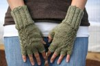 Fern Fingerless Gloves Pattern