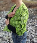 Tulip Tree Shawl Pattern