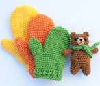 Kids' Gifting Crochet Mittens Pattern