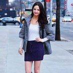 Heart Me Forever Cable Knit Skirt