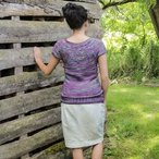 Crown Tee Hawthorne Pattern