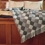 Squared Away Crochet Throw Pattern
