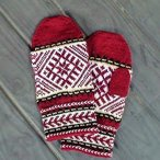 Latvian Mittens Pattern
