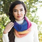 Chromatic Circle Cowl Pattern
