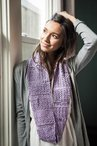 Blossom and Broomsticks Crochet Infinity Scarf
