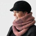 Ombre Infinity Scarf -Tunisian Crochet