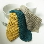 Post Stitch Dishcloth Sampler