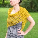 Golden Filigree Shawl