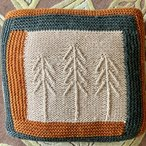 Snowy Woods Log Cabin Blocks