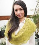 Romantic Lace Edge Cowl