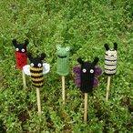 Garden Critter Finger Puppets