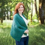 Riversong Cable Shawl