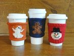 Coffee Cozies: Ghost, Gingerbread & Snowman
