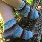 Stripey Stairs Socks