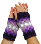Diamonds Mitts