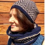 Rule 130 Hat and Cowl Set Pattern
