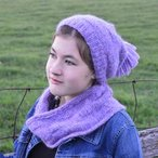 4 sq'd Hat and Cowl
