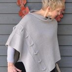 Knotted Chain Poncho Pattern