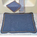 Basketweave Lace Bath Set