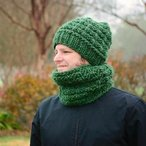 Wesley Slouch Beanie and Cowl Pattern