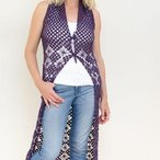 Halter Maxi Vest Pattern