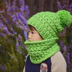 Belle Slouch Beanie and Cowl Pattern